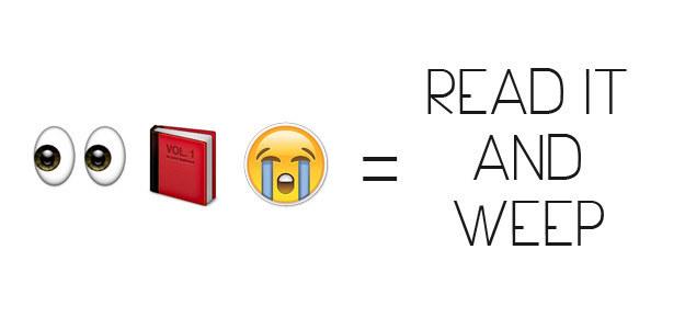 Read It And Weep Emoji