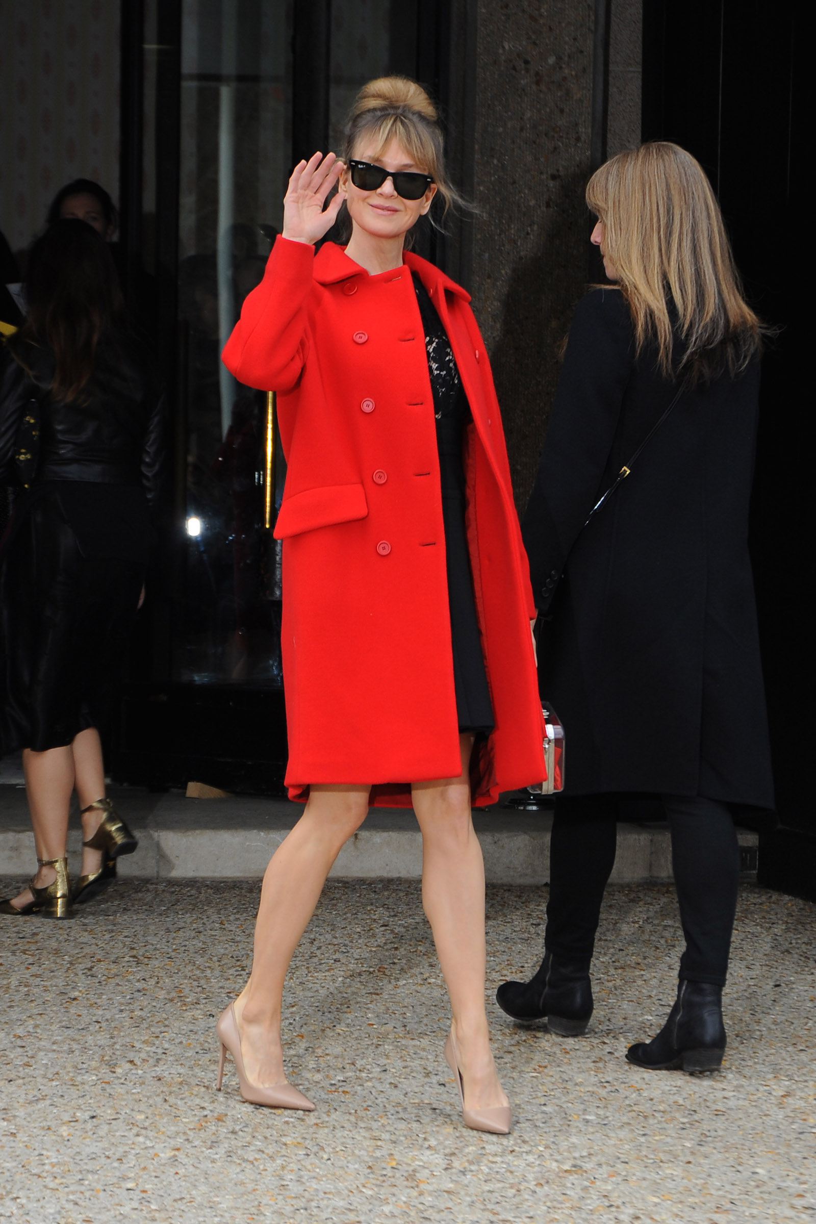 Miu Miu  Outside Arrivals - Paris Fashion Week Womenswear