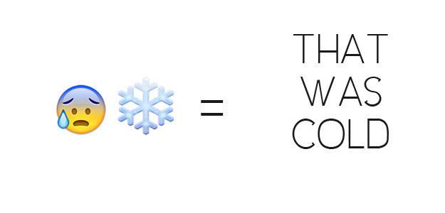That Was Cold Emoji