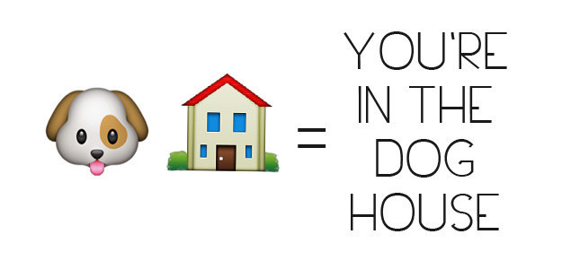 You're In The Dog House Emoji
