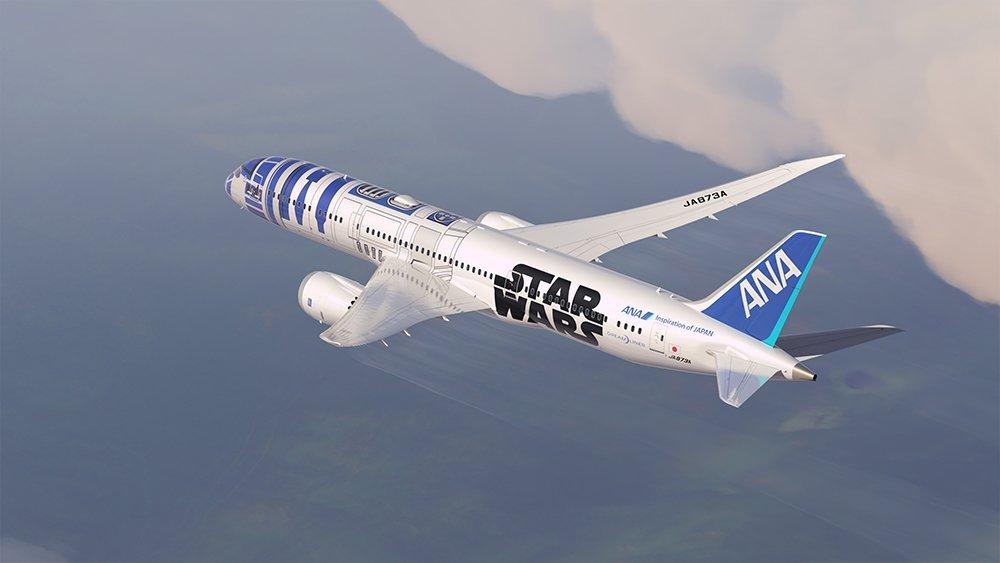 ANA Star Wars livery