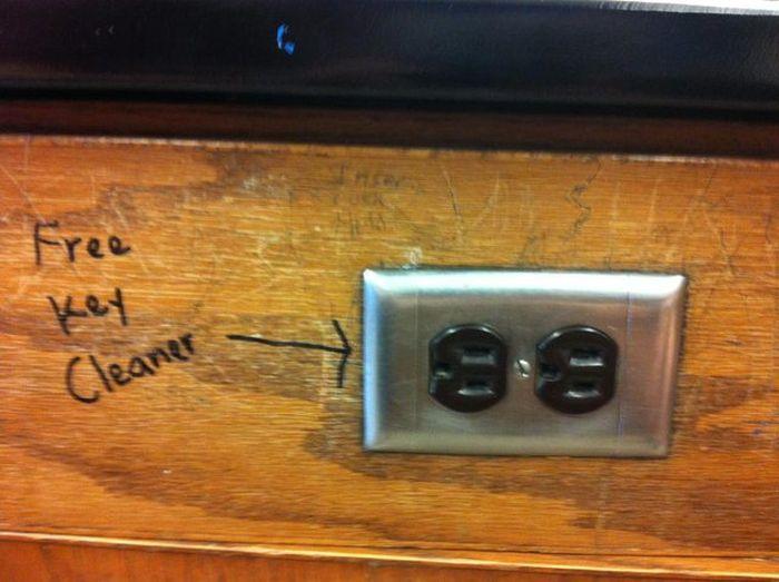 Free Key Cleaner