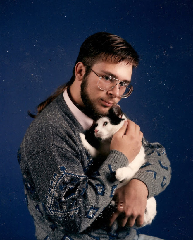 Man And Cat 18