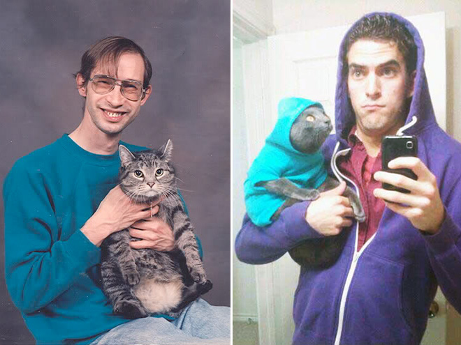 Man And Cat 8