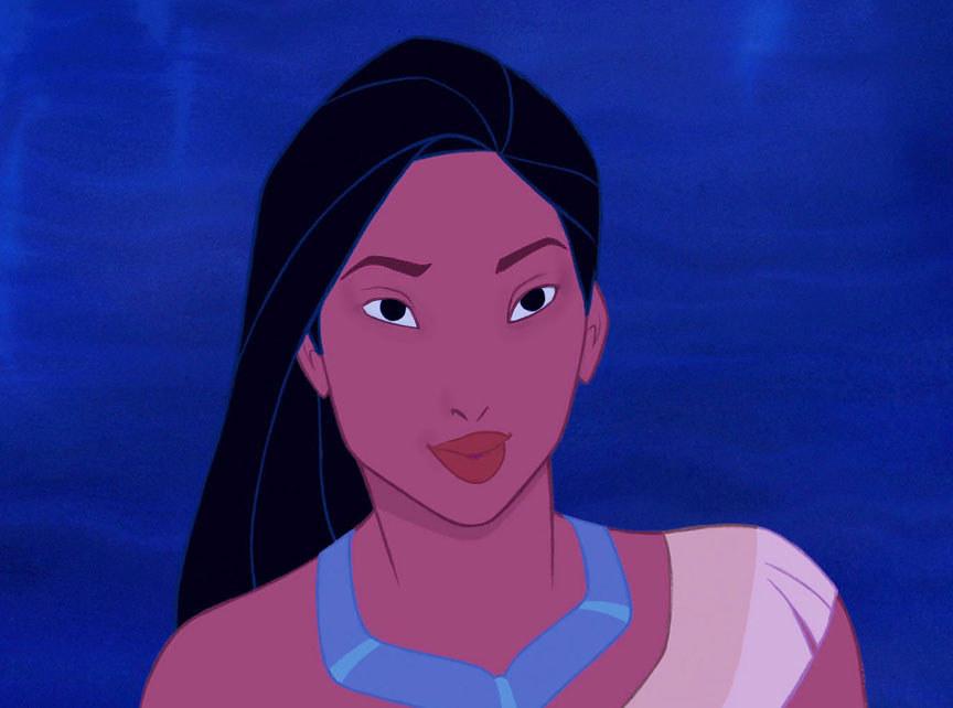 Pocahontas Without Makeup