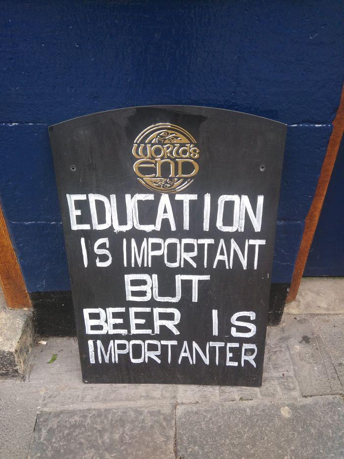 Chalkboard Sign 1