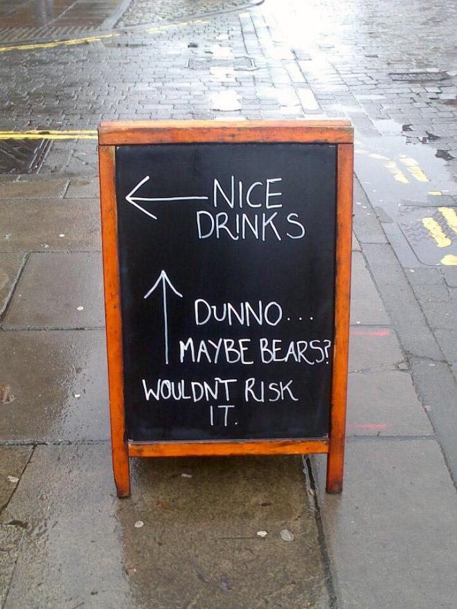 Chalkboard Sign 13