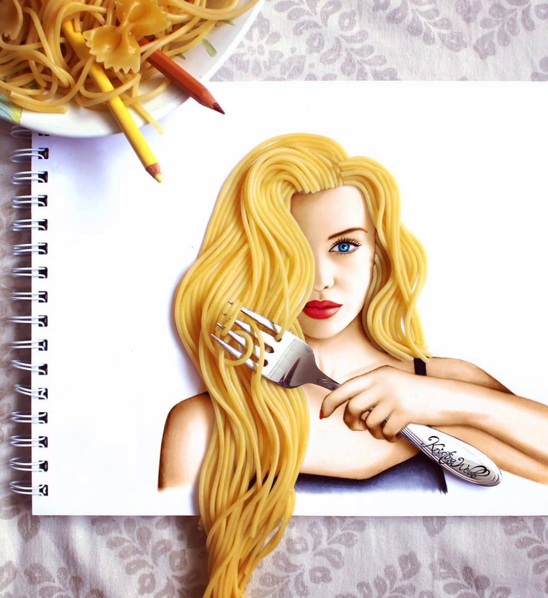 Illustration Using Real Object 10