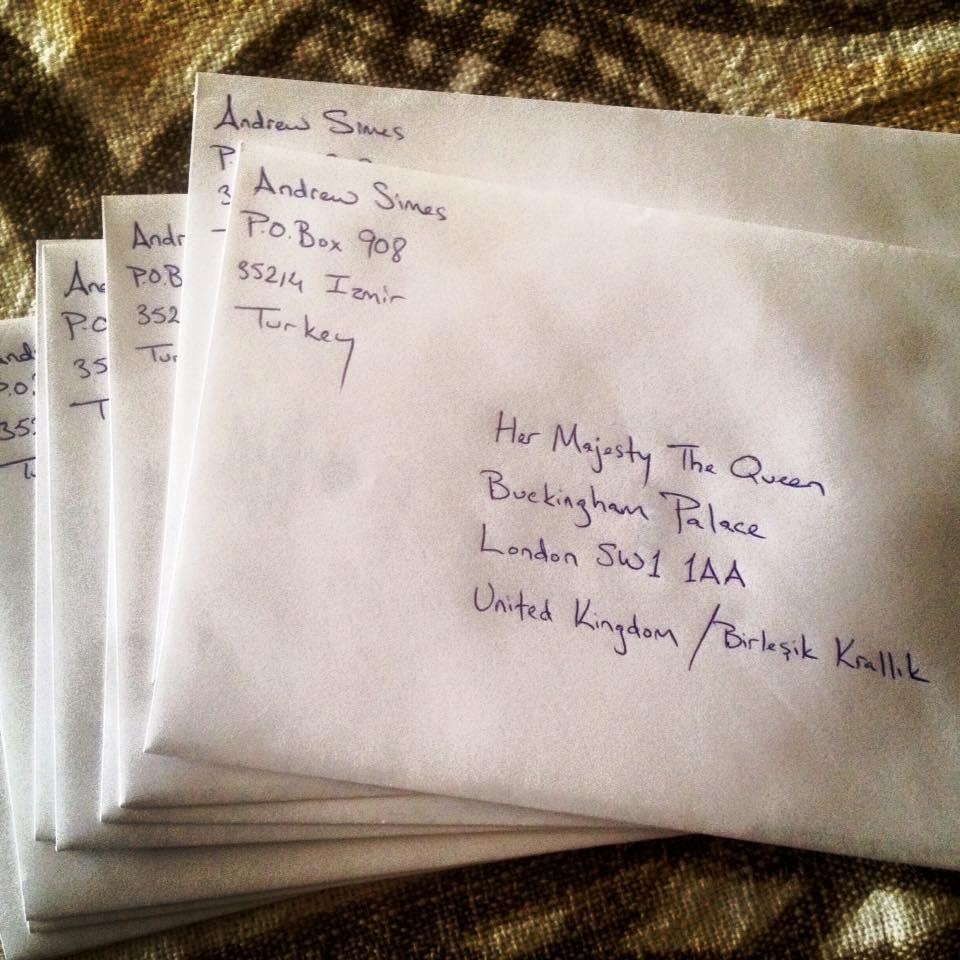 Christmas Cards To Queen Elizabeth II