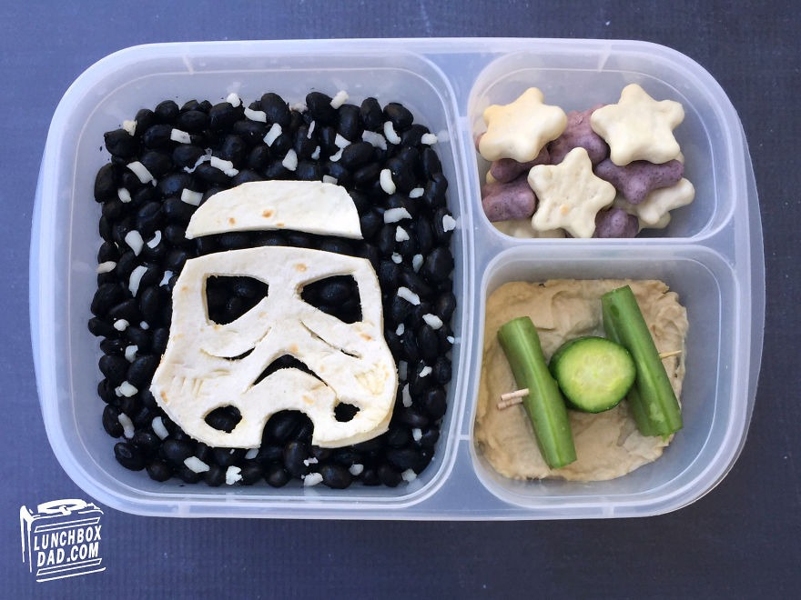 Star Wars Bento Lunch 2