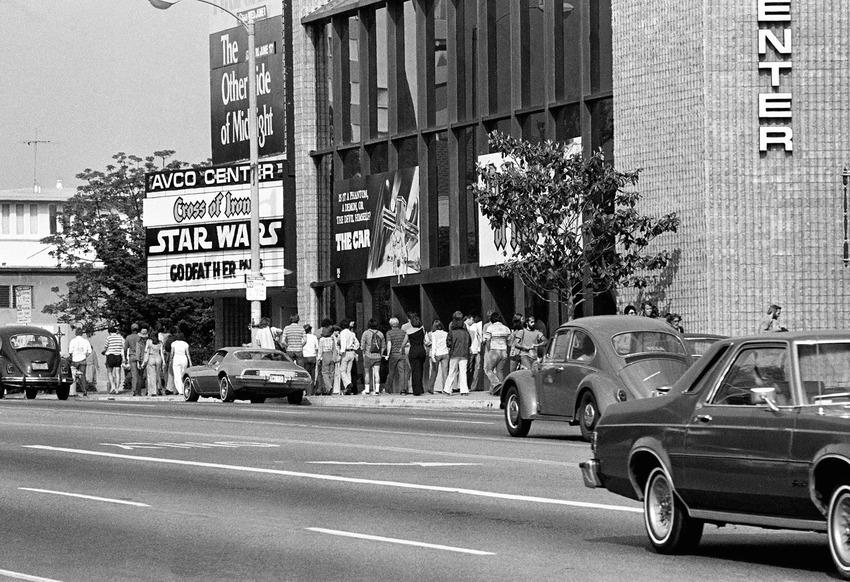 Star Wars Theater Lines Vintage 1