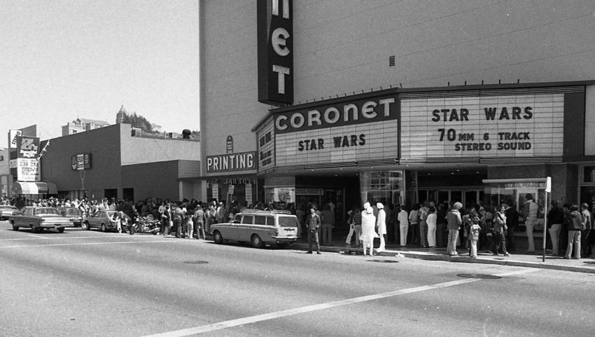 Star Wars Theater Lines Vintage 2