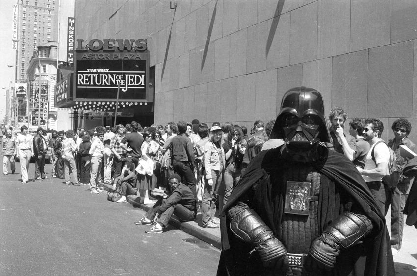 Star Wars Theater Lines Vintage 6
