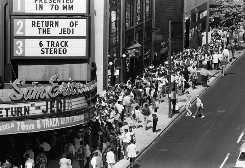 Star Wars Theater Lines Vintage 7