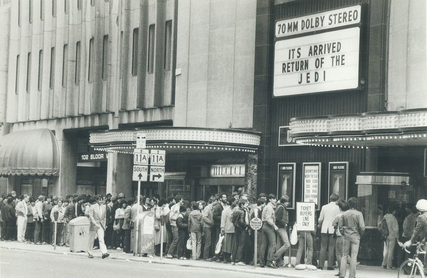 Star Wars Theater Lines Vintage 9