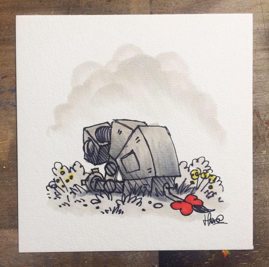Star Wars Winnie the Pooh Art 11