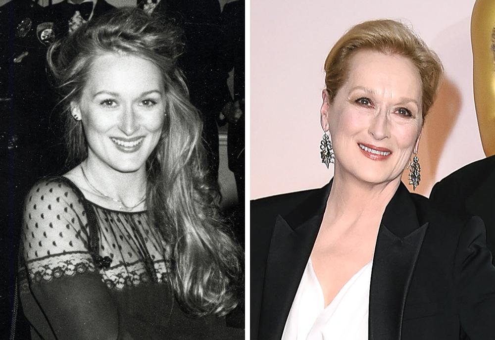 Meryl Streep 1979 and 2015