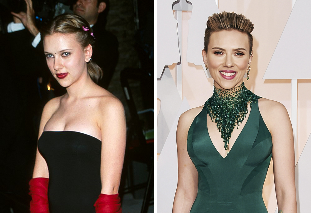 Scarlett Johansson 2000 and 2015