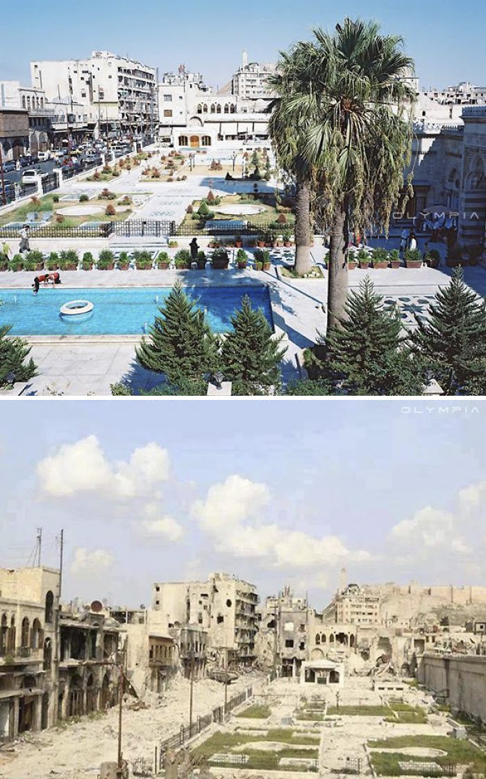 Aleppo, Syria Before and After 1
