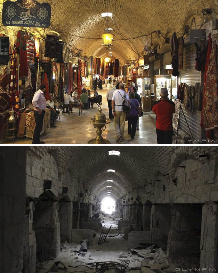 Aleppo, Syria Before and After 11
