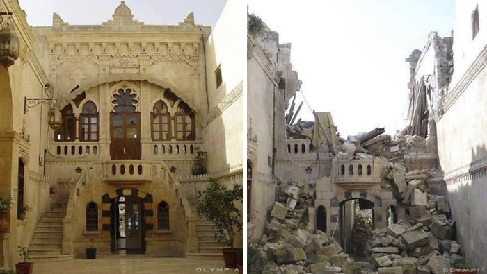 Aleppo, Syria Before and After 12