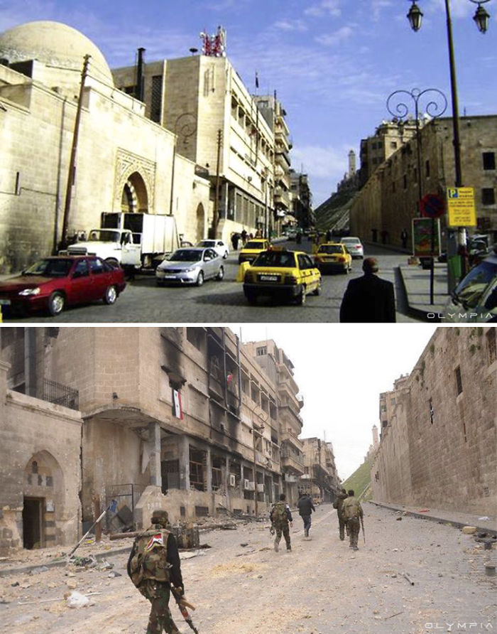 Aleppo, Syria Before and After 13