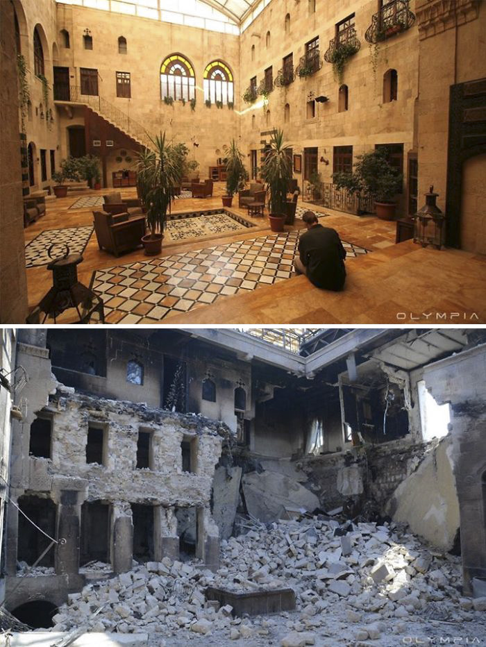 Aleppo, Syria Before and After 15