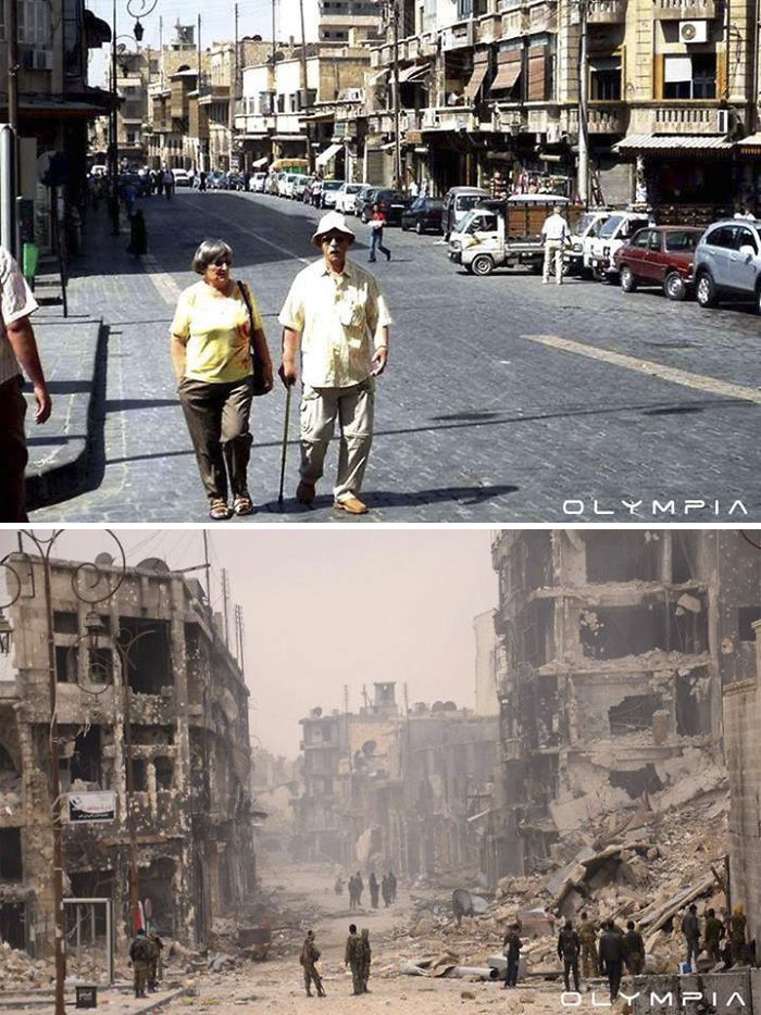 Aleppo, Syria Before and After 16