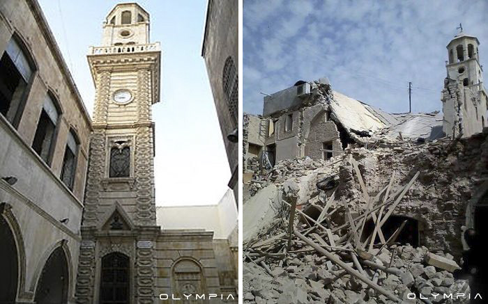 Aleppo, Syria Before and After 17