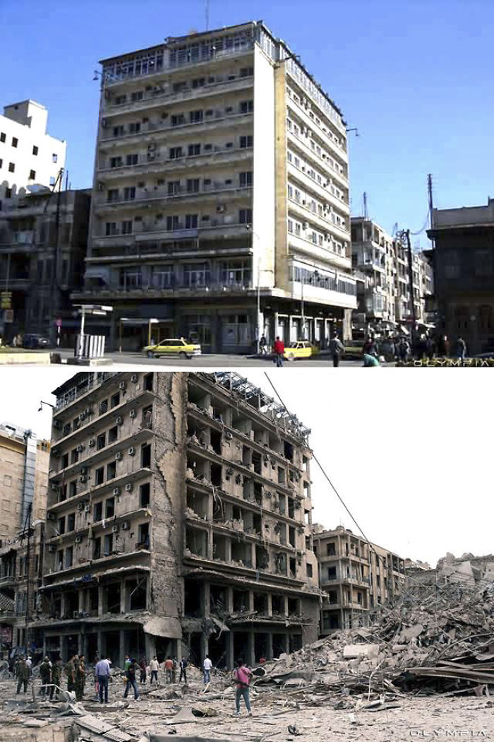 Aleppo, Syria Before and After 19