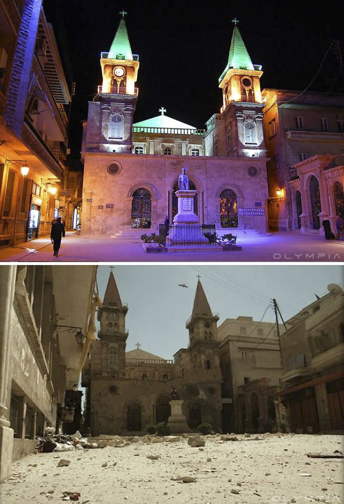 Aleppo, Syria Before and After 20