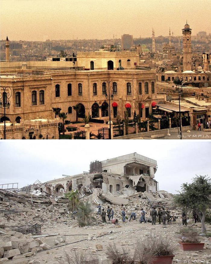Aleppo, Syria Before and After 21