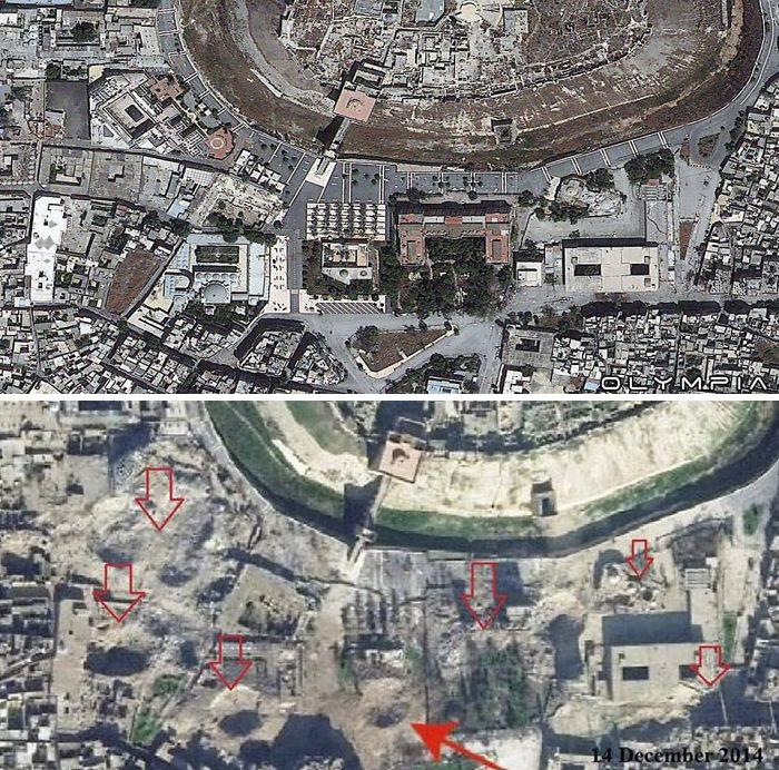 Aleppo, Syria Before and After 22