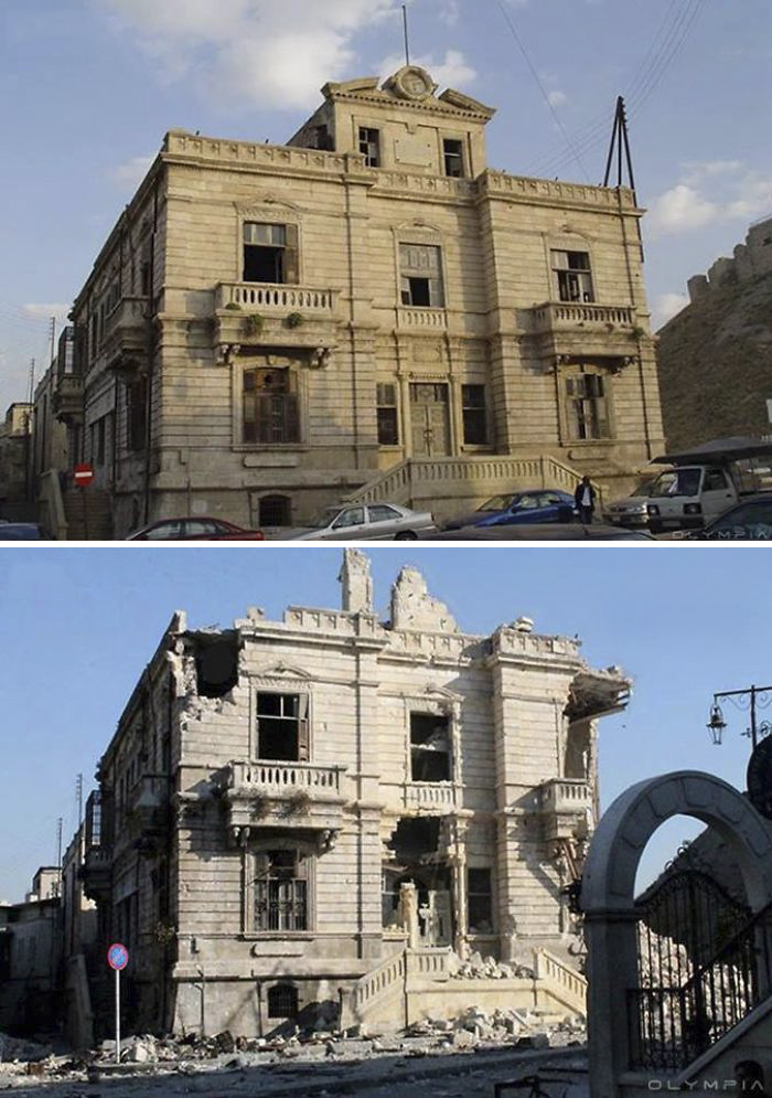 Aleppo, Syria Before and After 25