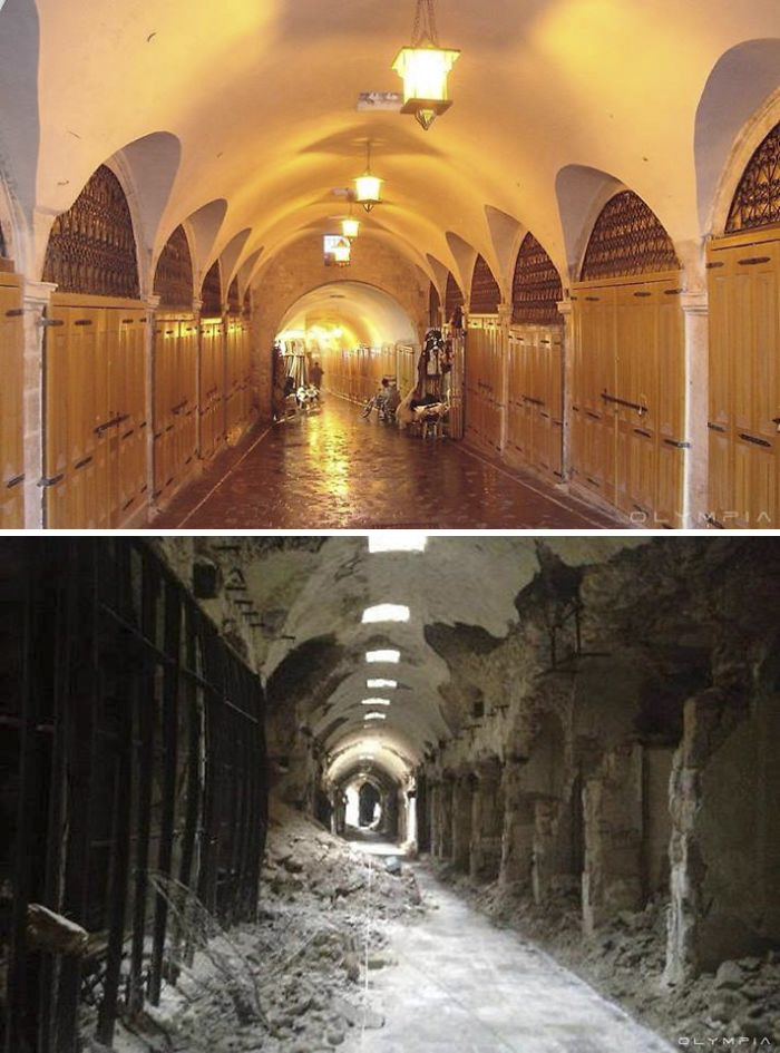 Aleppo, Syria Before and After 26