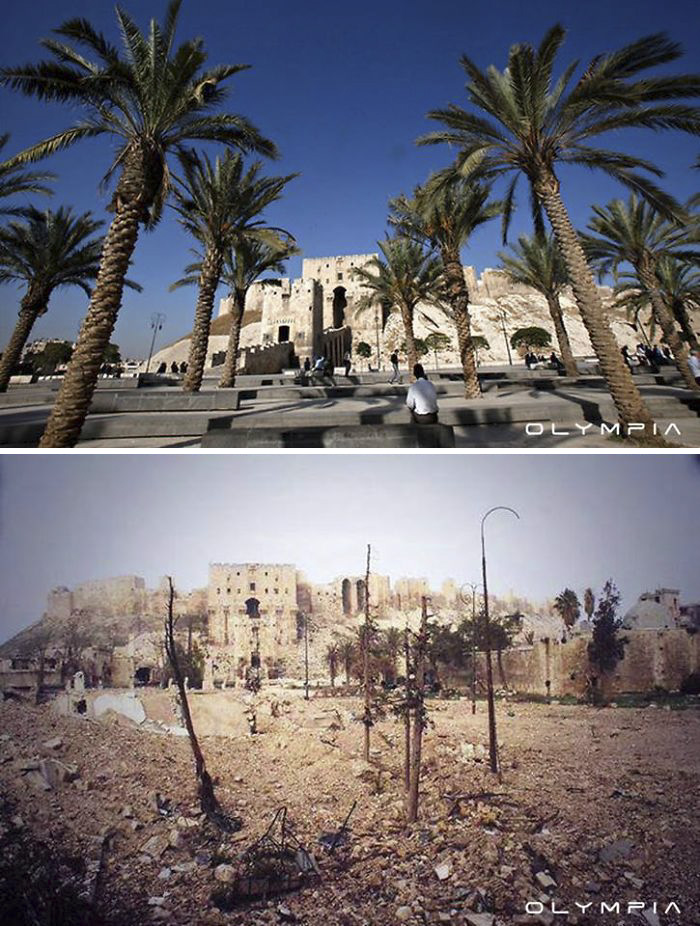 Aleppo, Syria Before and After 28