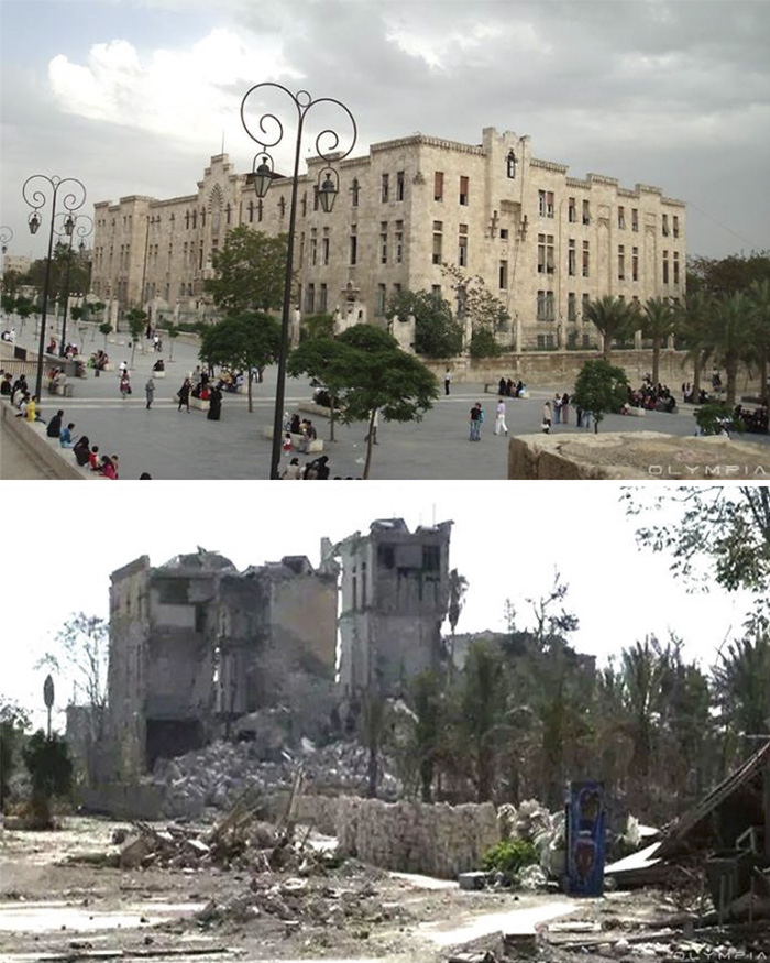 Aleppo, Syria Before and After 4