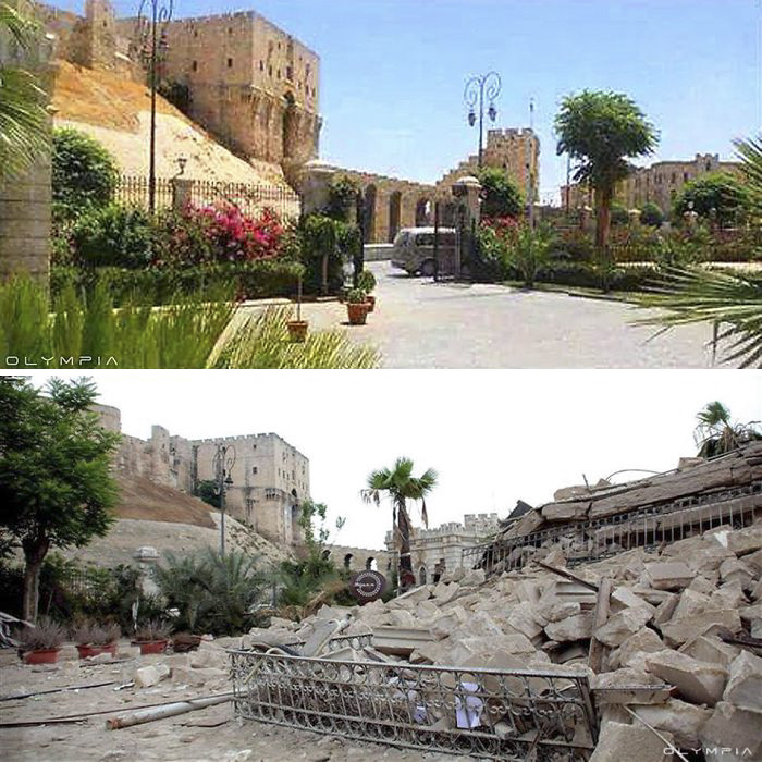 Aleppo, Syria Before and After 5
