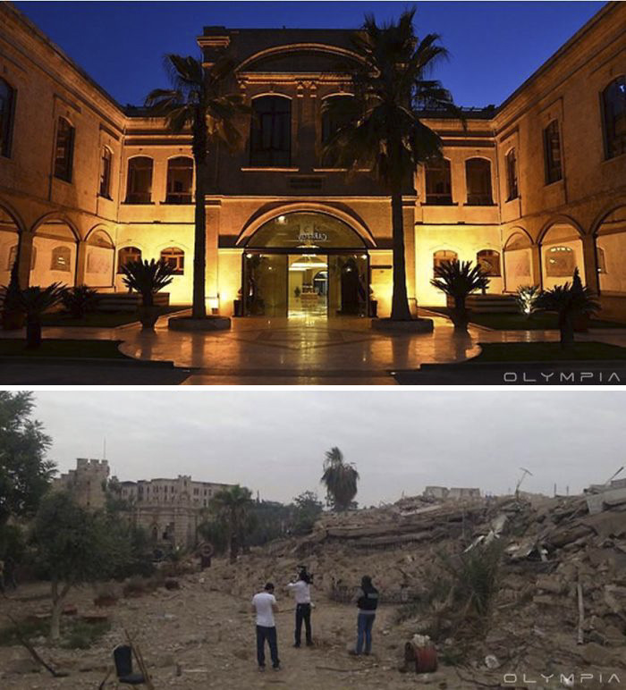Aleppo, Syria Before and After 6