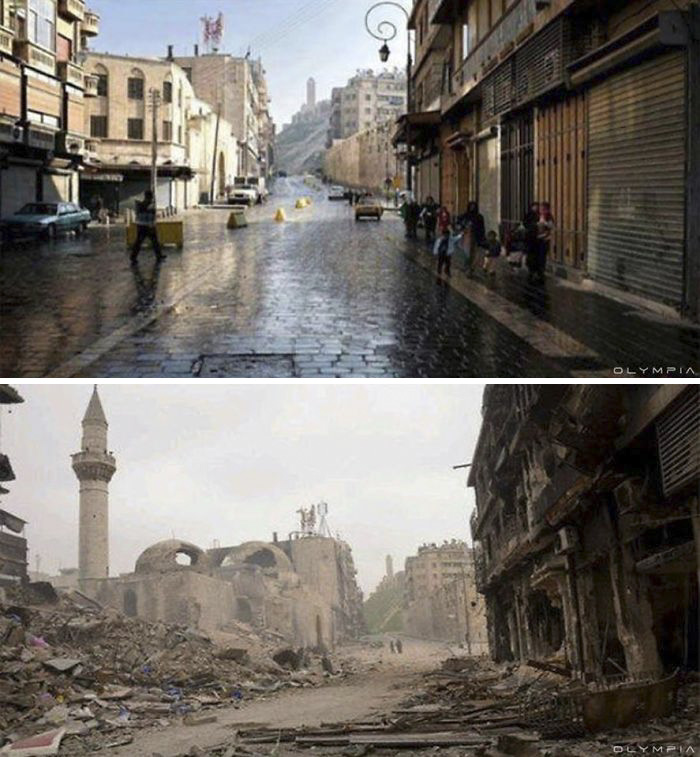 Aleppo, Syria Before and After 7