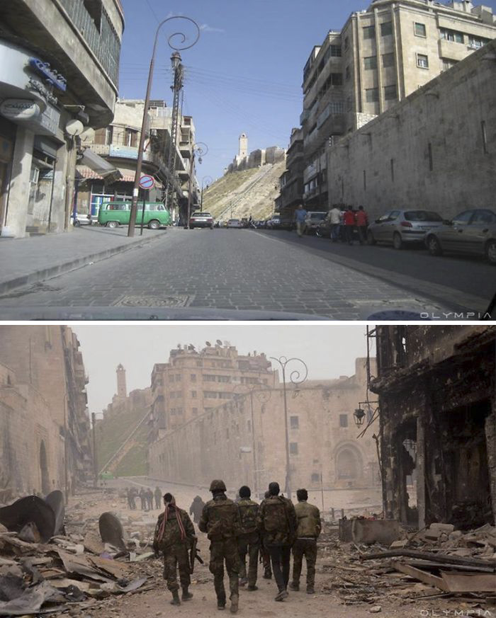 Aleppo, Syria Before and After 8
