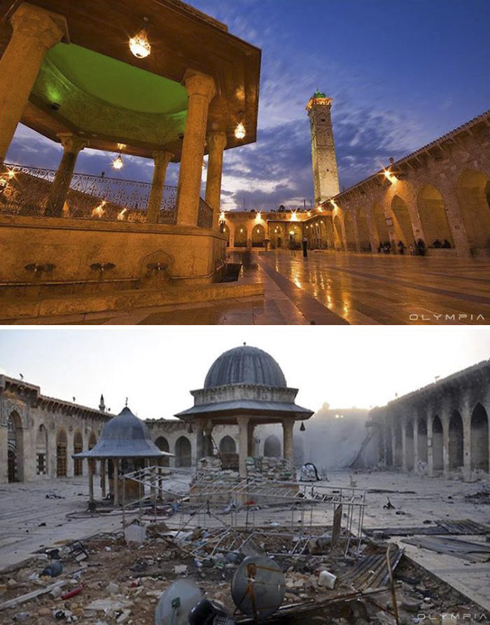 Aleppo, Syria Before and After 9